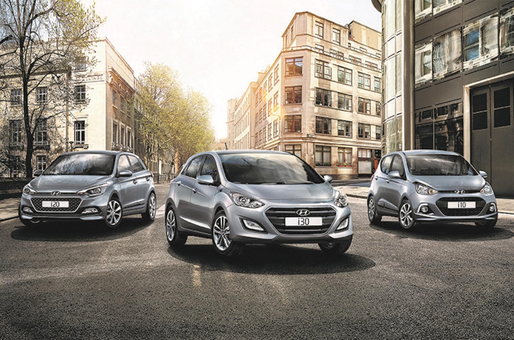 Hyundai-Sondermodelle  i10, i20 und i30 - Günstiges in Silber und Gold