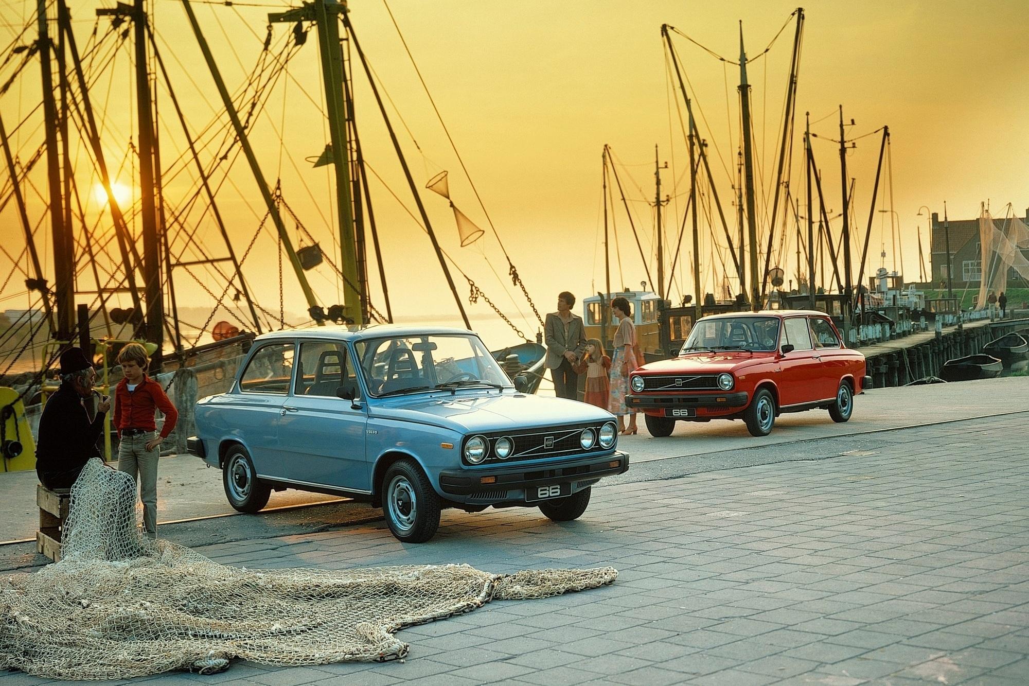 Tradition: 40 Jahre Volvo 66 und 343 - Frauenautos und Fliegende Holländer