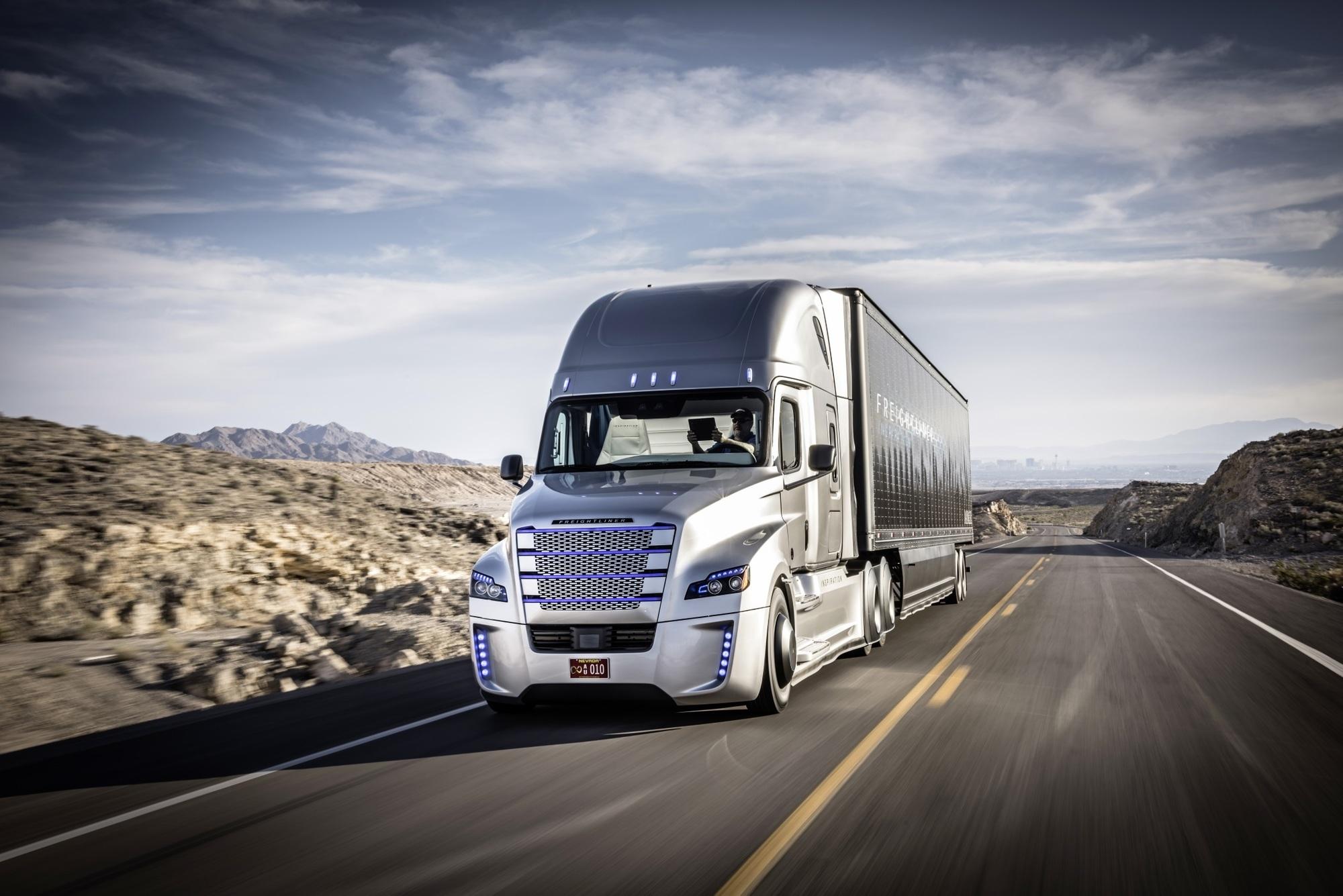 Autonomer Lkw fährt in den USA - Selbstfahrender Brummi im Testlauf