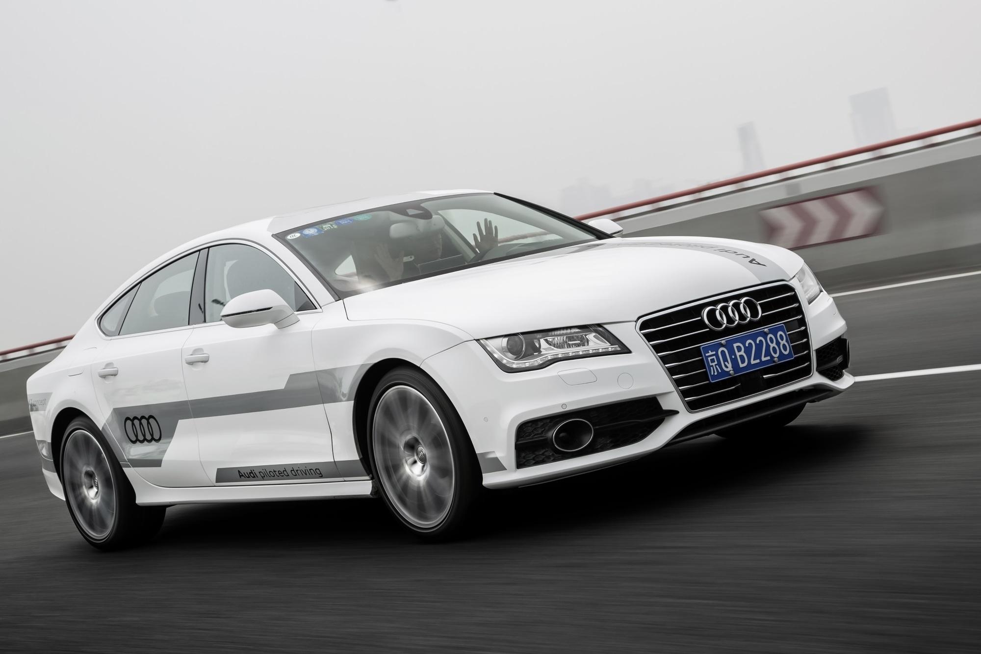 Audi lässt auch in China die Elektronik ans Steuer - Selber fahren war gestern