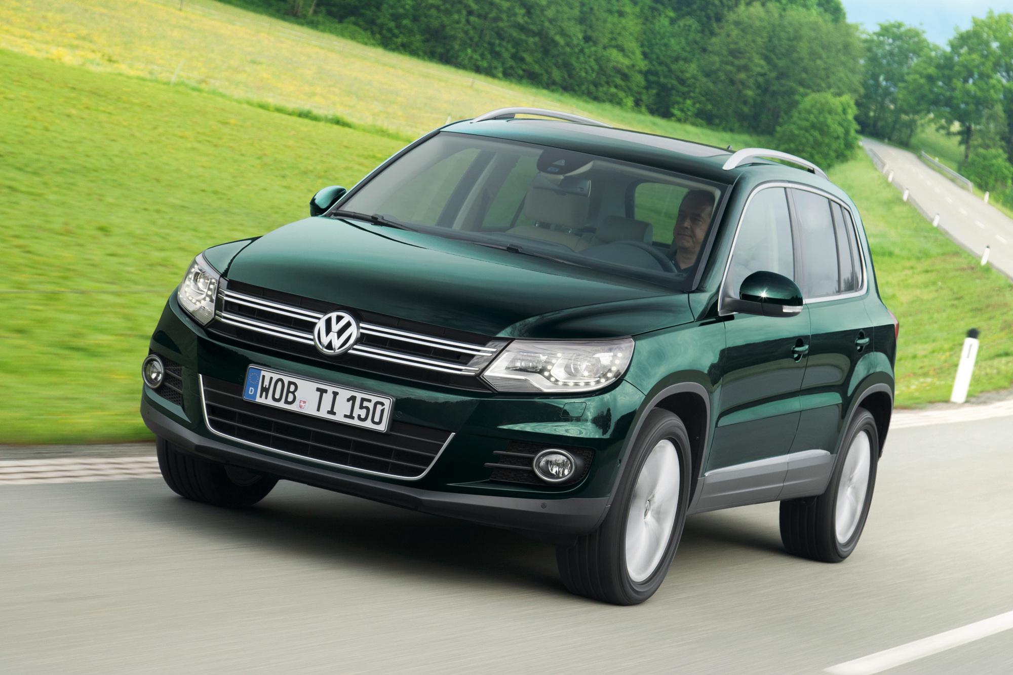 VW Tiguan - Bestseller jetzt mit App-Anbindung