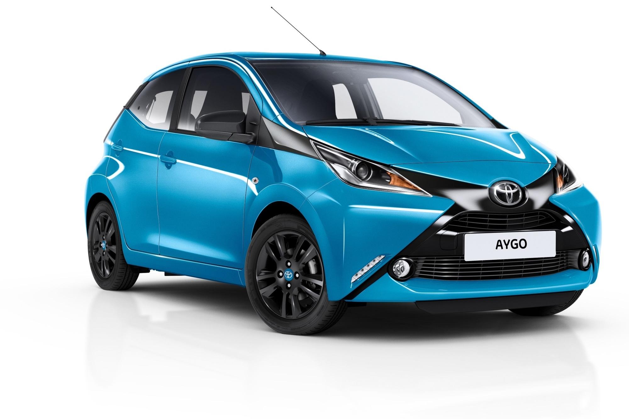Toyota Aygo - X-trem blaues Sondermodell