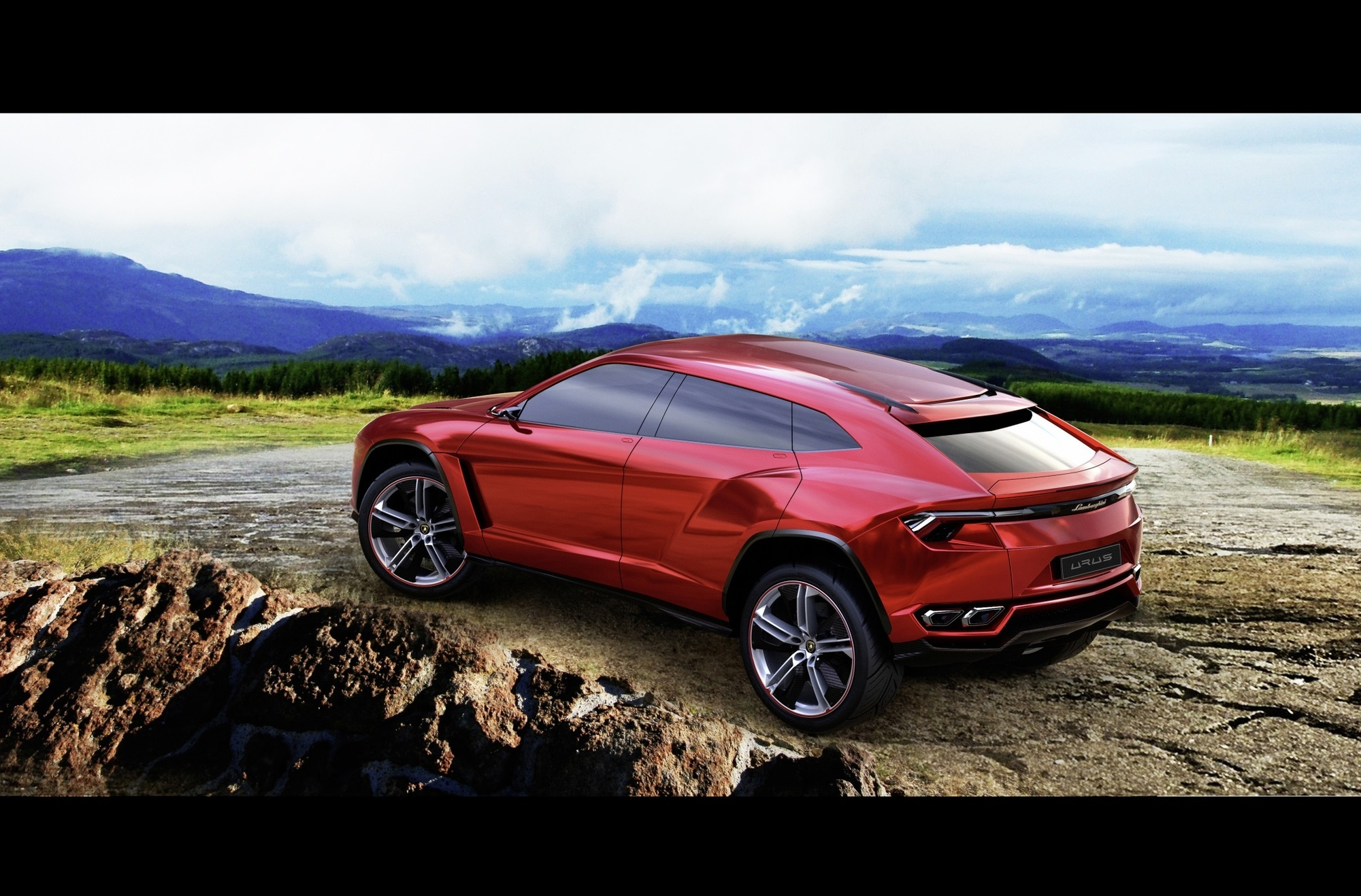 Neues Lamborghini-SUV - Der will hoch hinaus