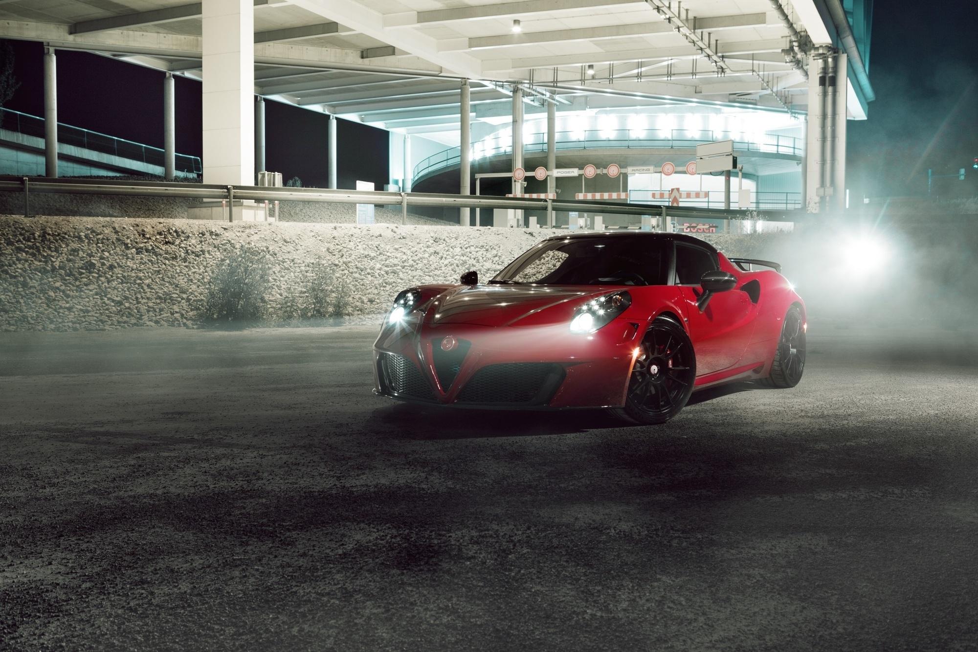 Getunter Alfa Romeo 4C - Kraftfutter für den Rennfloh