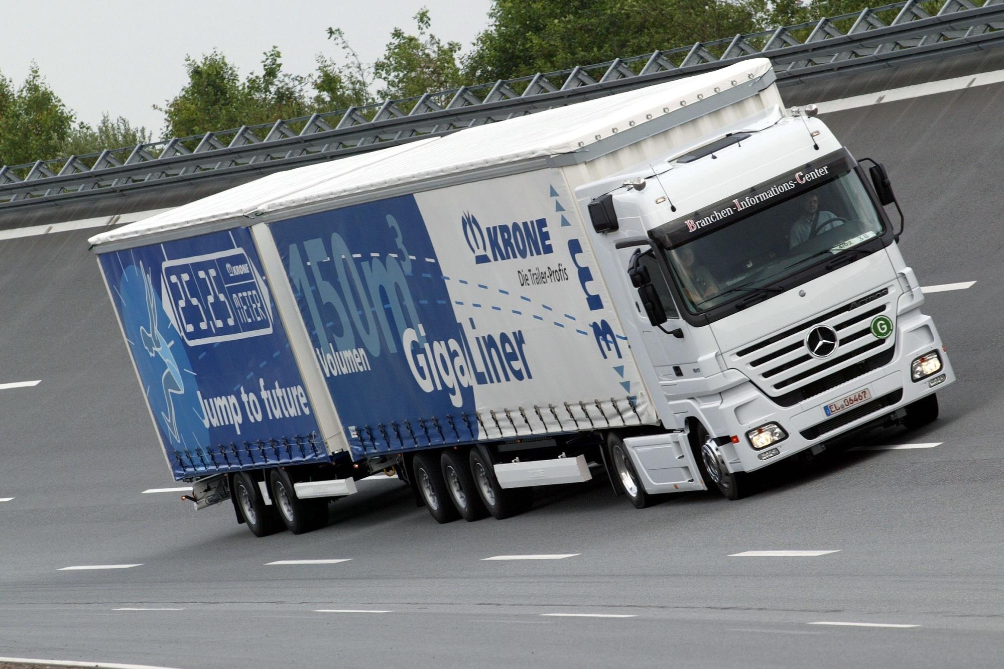 Steigendes Verkehrsaufkommen im Nutzfahrzeugbereich - Auf der Suche nach Verbesserungspotenzial