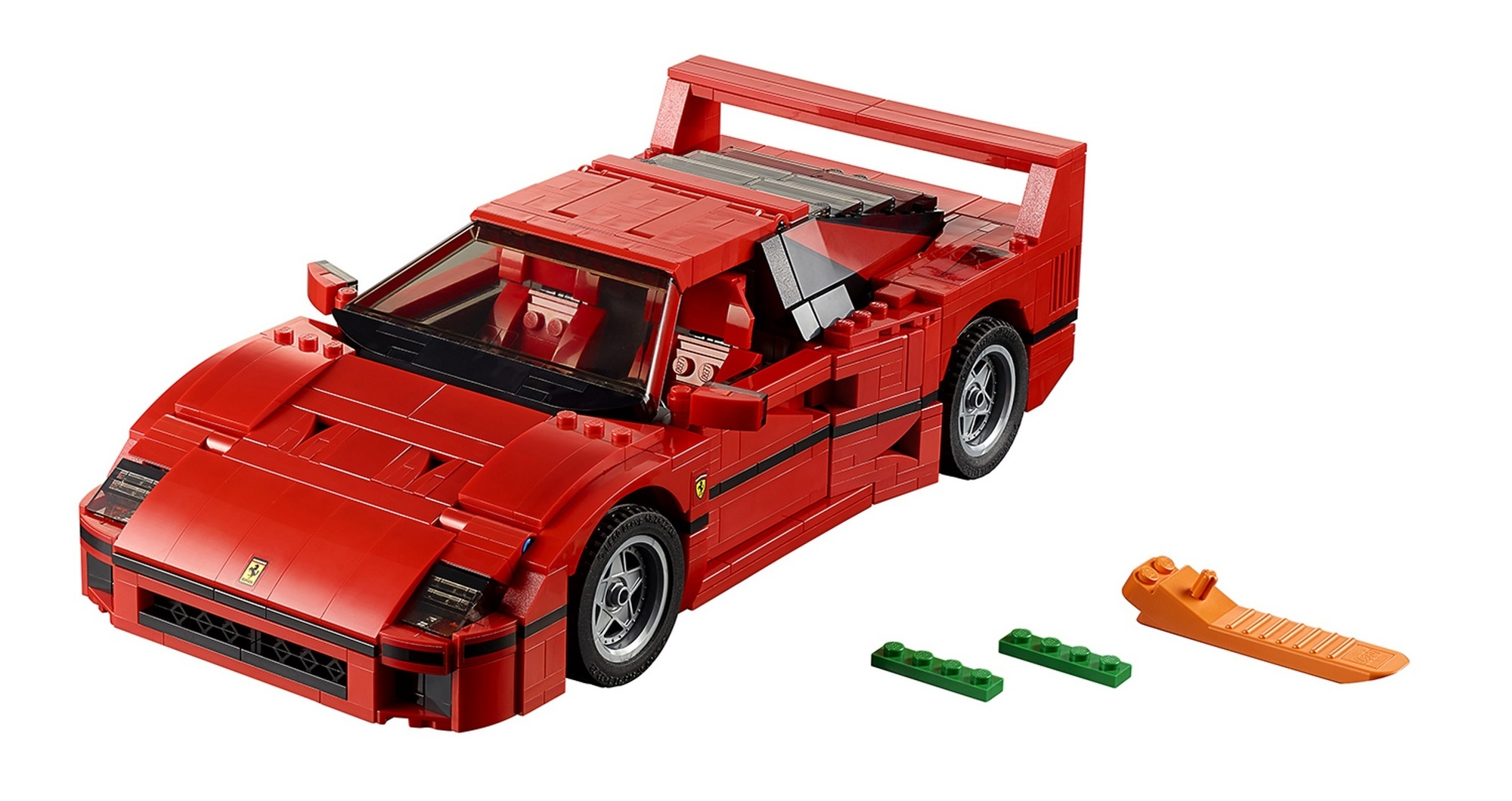 Ferrari F40 von Lego - Da kann jeder zum Sportwagen-Sammler werden