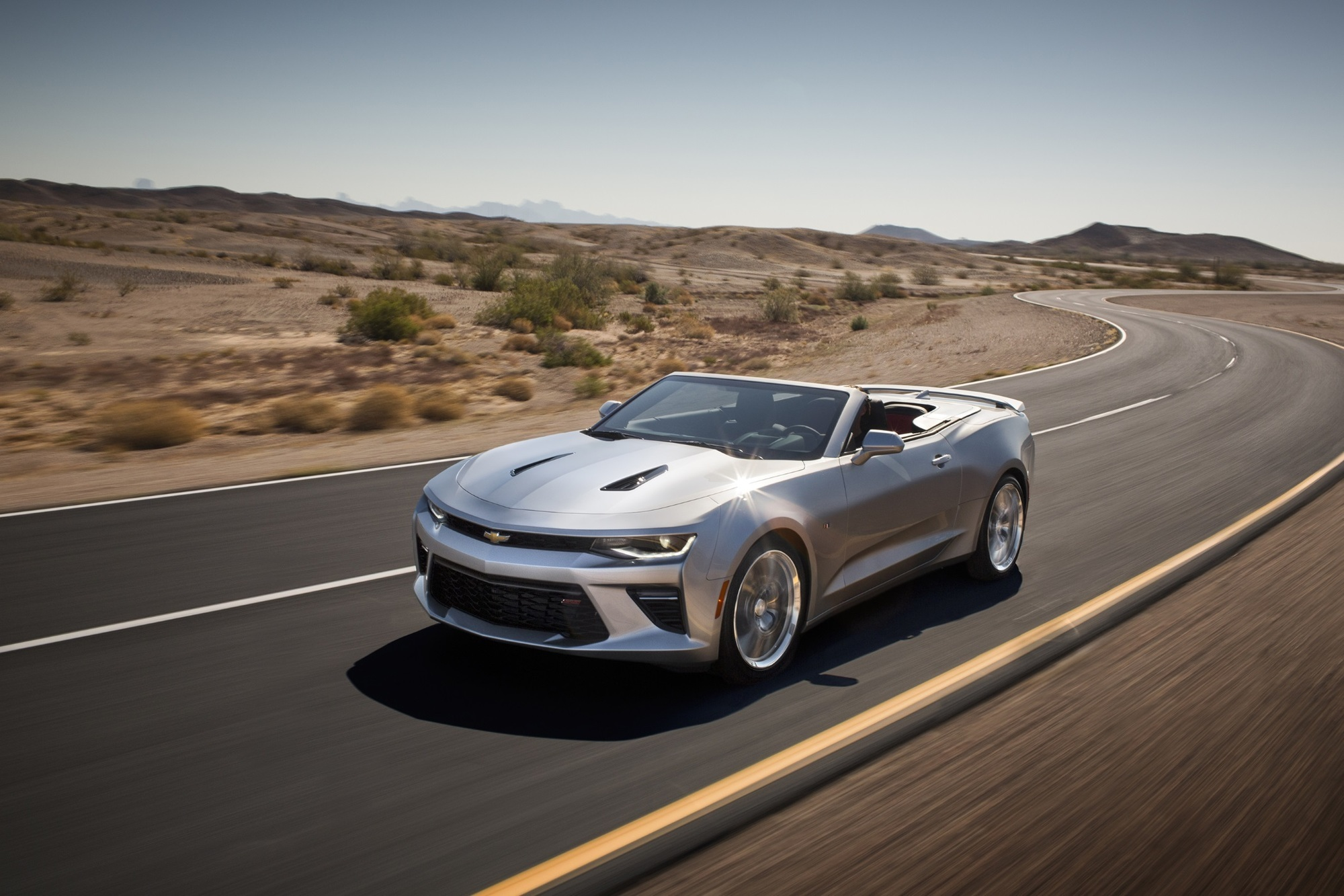Chevrolet Camaro Cabrio - Musclecar mit mehr Vorzeige-Faktor
