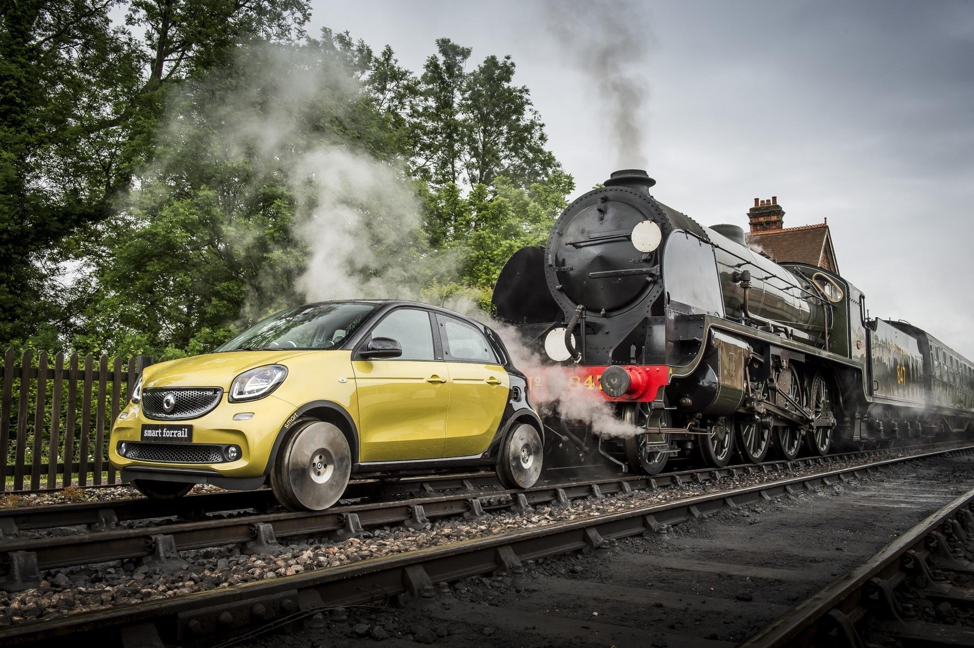 Smart Forrail - Bahnfrei für das Schienenauto