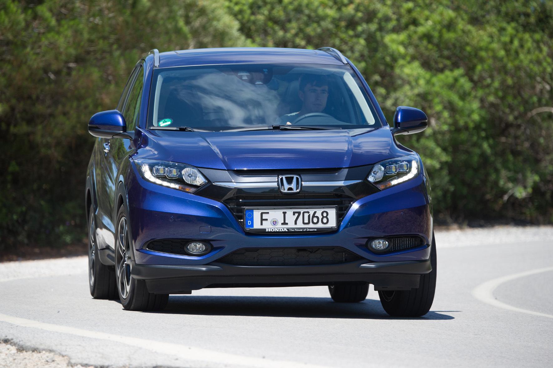 mid Düsseldorf - Der Honda HRV kommt mit einem selbstbewussten Design auf die Straße.