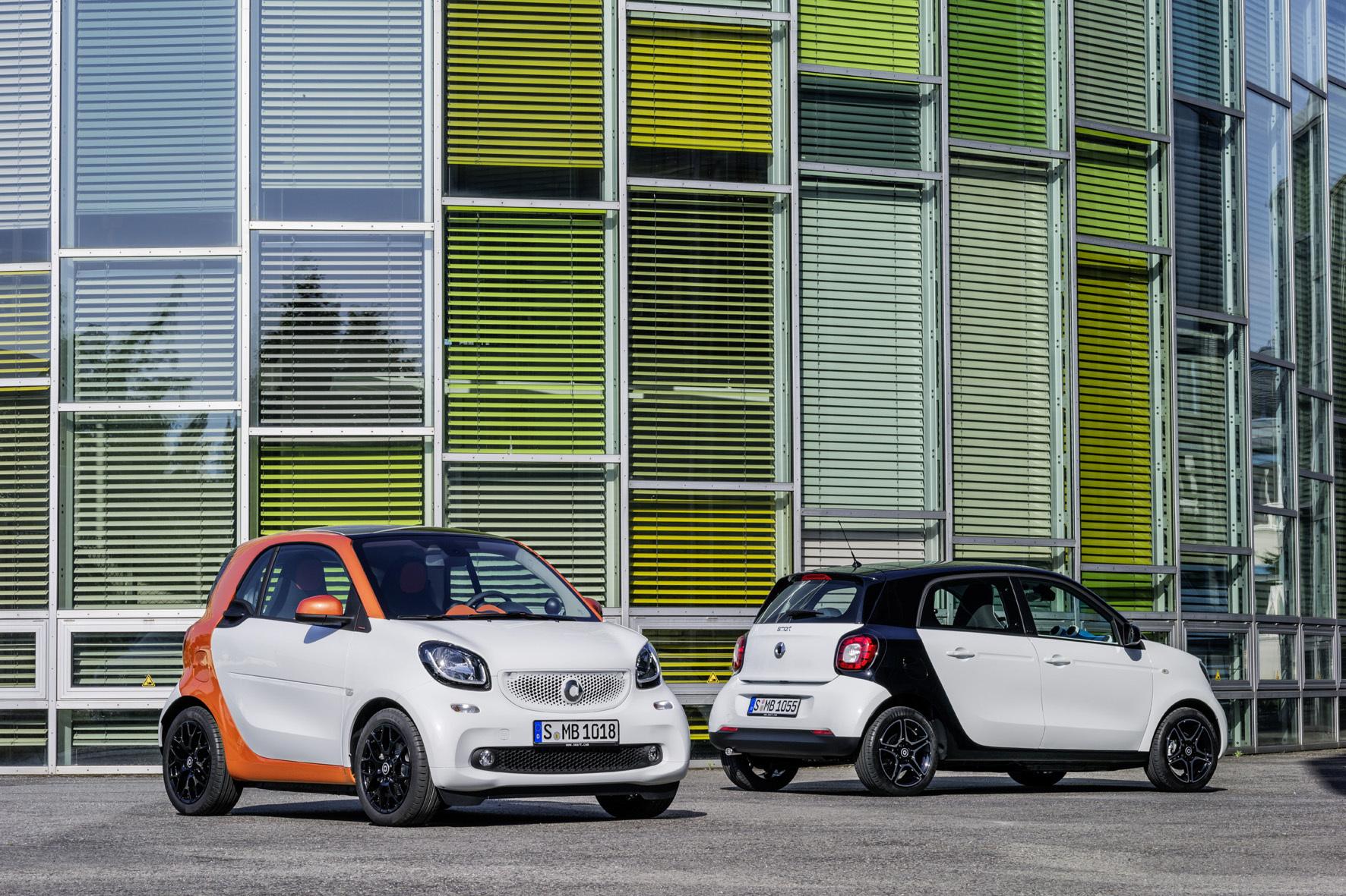 mid Düsseldorf - Im Smart fortwo und forfour arbeitet jetzt das neu entwickelte kompakte Doppelkupplungsgetriebe.