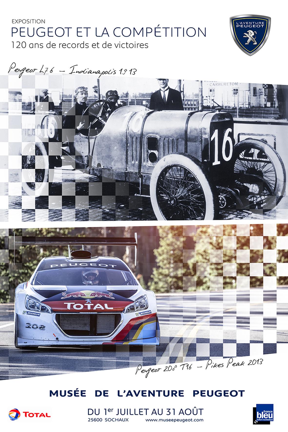 mid Düsseldorf - Peugeot feiert 120 Jahre Erfolge im Motorsport.