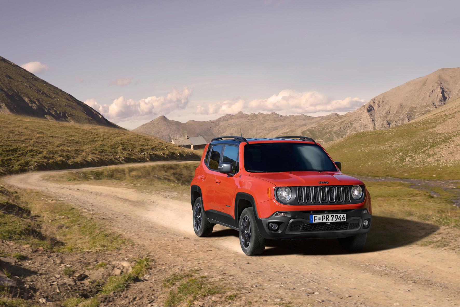 mid Frankfurt - Die auf vier Jahre verlängerte Garantie bei Jeep gilt für alle Neufahrzeuge der Marke vom neuen Renegade (Foto) bis zum Grand Cherokee.