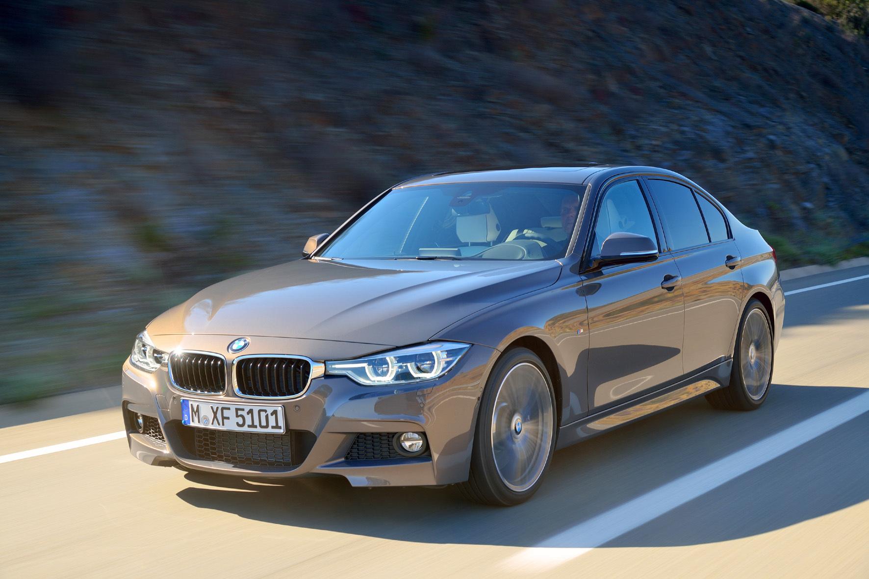 mid Achenkirch/Österreich - Der überarbeitete BMW 3er kommt mit nur wenigen optischen Veränderungen an Scheinwerfern und Stoßfängern, dafür aber mit einer fast komplett neuen Motorenpalette.
