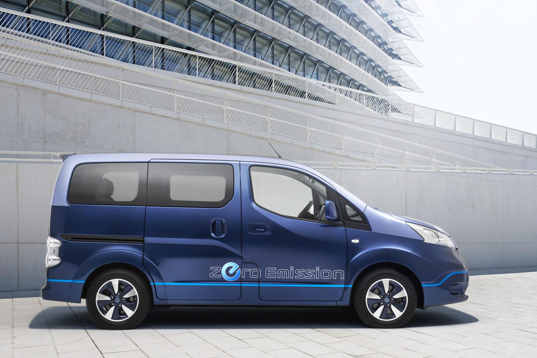 mid Brühl - Elektro-Personentransporter für bis zu sieben Personen: der Nissan e-NV200 Evalia.