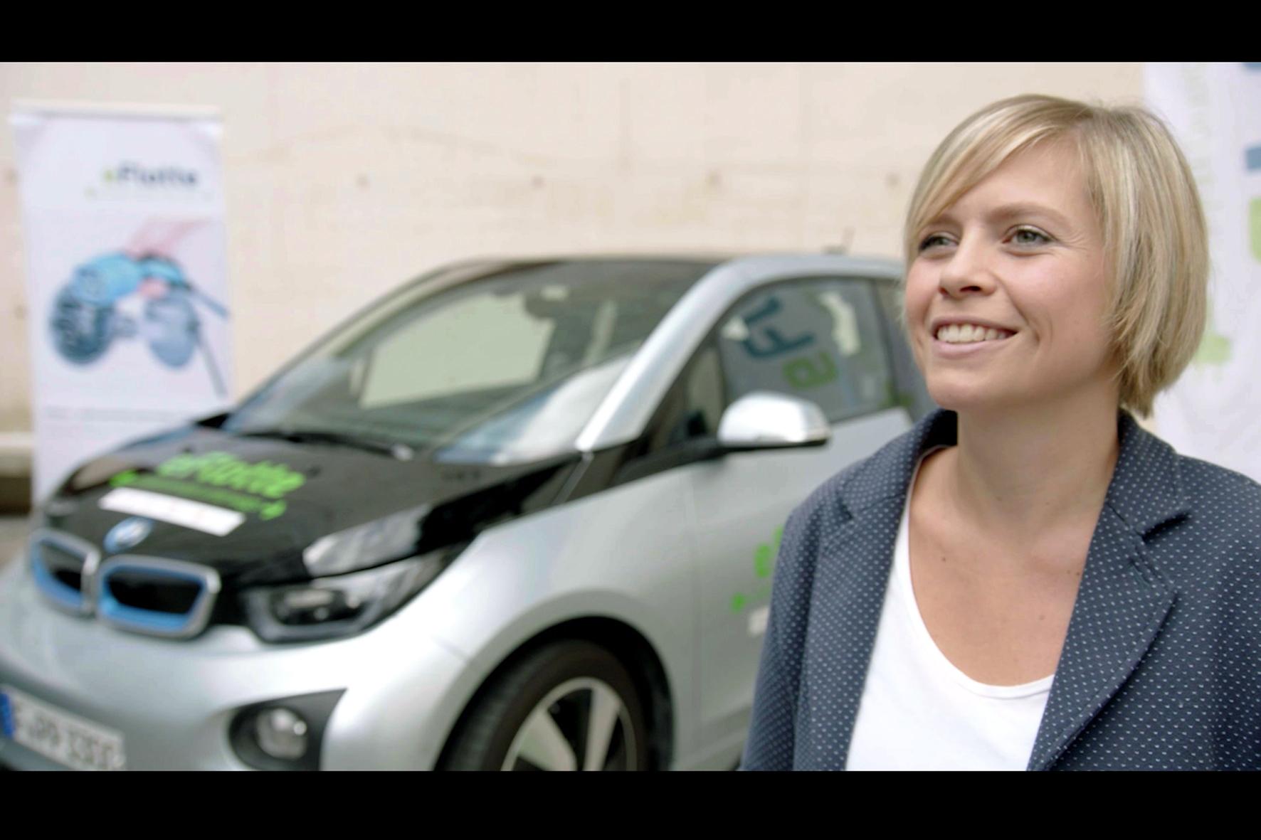 """mid Düsseldorf - Elektroautos kleinen und mittleren Unternehmen näher zu bringen, ist das Ziel der Aktion """"eFlotte""""."""