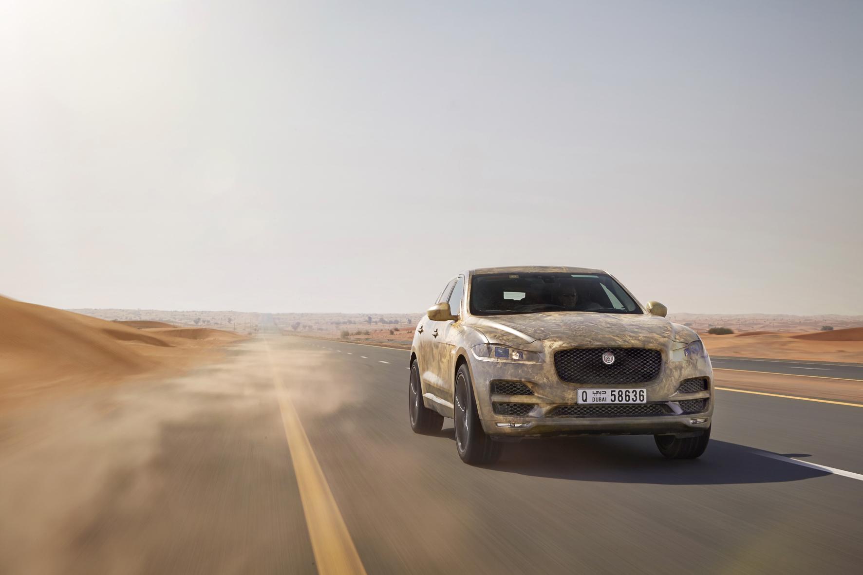 mid Düsseldorf - Jaguars erstes SUV im Härtetest: Das Erprobungsprogramm absolvierte der neue F-Pace unter verschiedensten klimatischen Bedingungen.