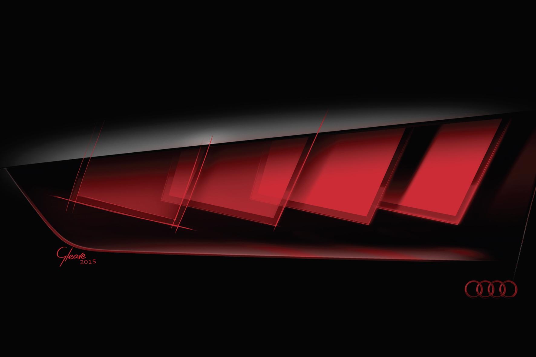 Ingolstadt mid - Die Matrix-Oled-Technologie ermöglicht neue Formen bei der Gestaltung der Rückleuchten. Audi zeigt auf der IAA eine Studie mit der neuen Technik.