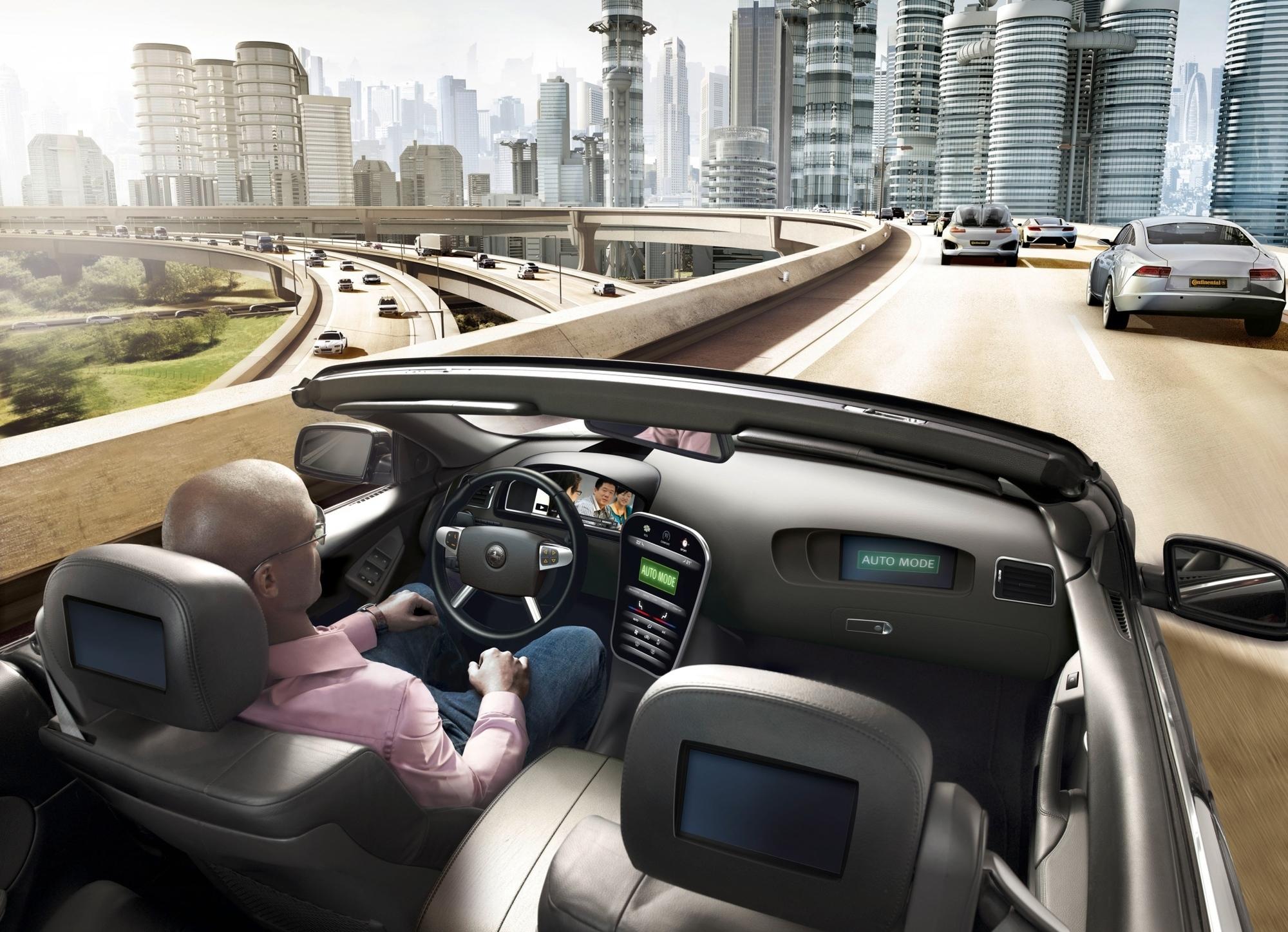 mid Düsseldorf - Während der Fahrt das Steuer loslassen zu können, um E-Mails zu lesen, gehört zu den Zielen des hochautomatisierten Fahrens.