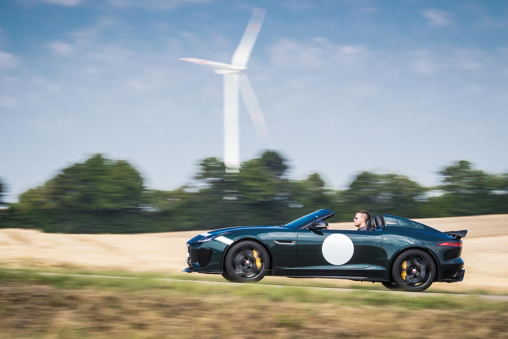 mid Nürburgring - Mit dem Project 7 schickt Jaguar nun sein schnellstes Serienmodell in streng limitierter Auflage auf die Straße.