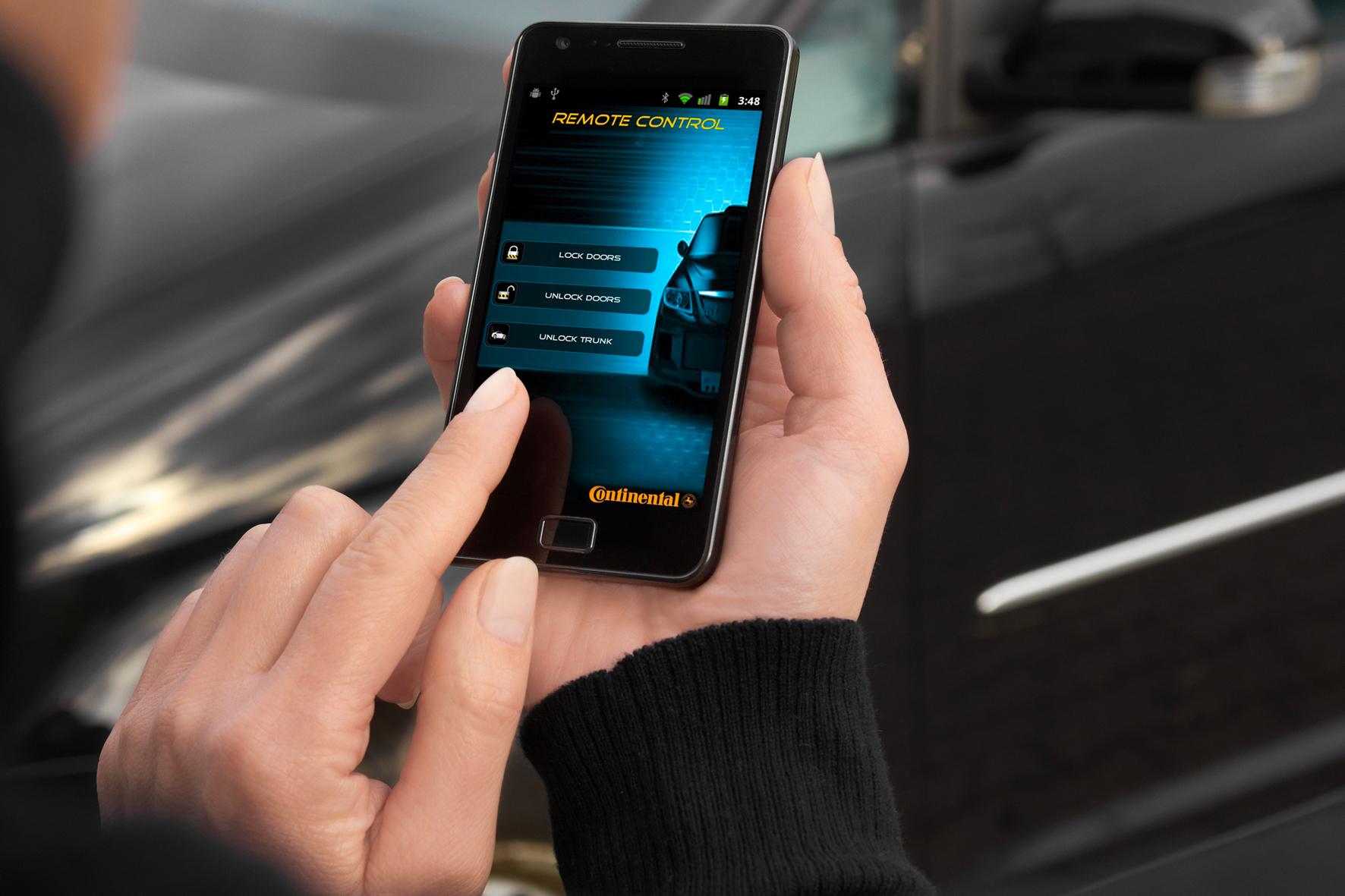 mid Düsseldorf - Sesam öffne Dich: Das Smartphone macht den Autoschlüssel überflüssig.
