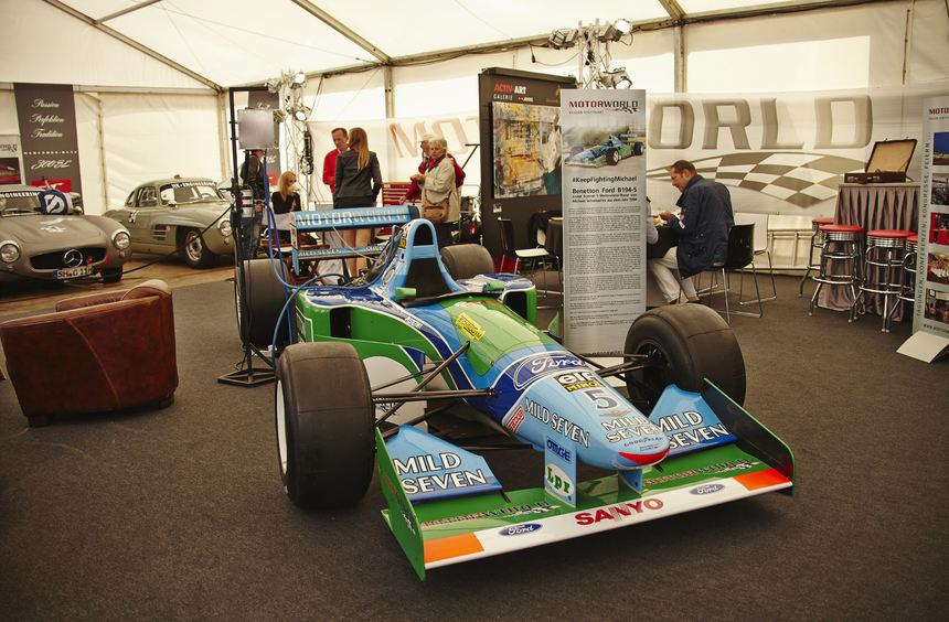 mid Frankfurt am Main - Mit dem Benetton B194 wurde Michael Schumacher 1994 zum ersten Mal ...