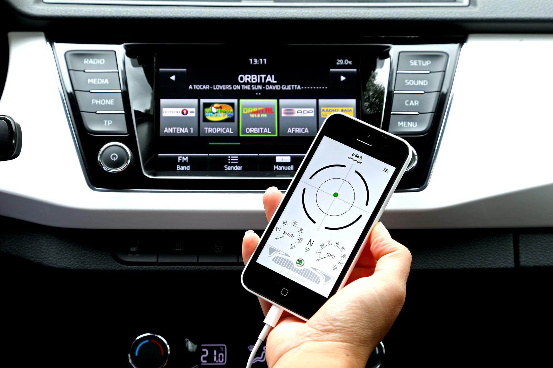 mid Düsseldorf - In fast allen Skoda-Baureihen wird ab sofort die Datenübertragung vom Fahrzeug aufs Smartphone erweitert: Mit der neuen Funktion SmartGate und den entsprechenden Apps werden die Nutzergeräte mit dem Auto verbunden.