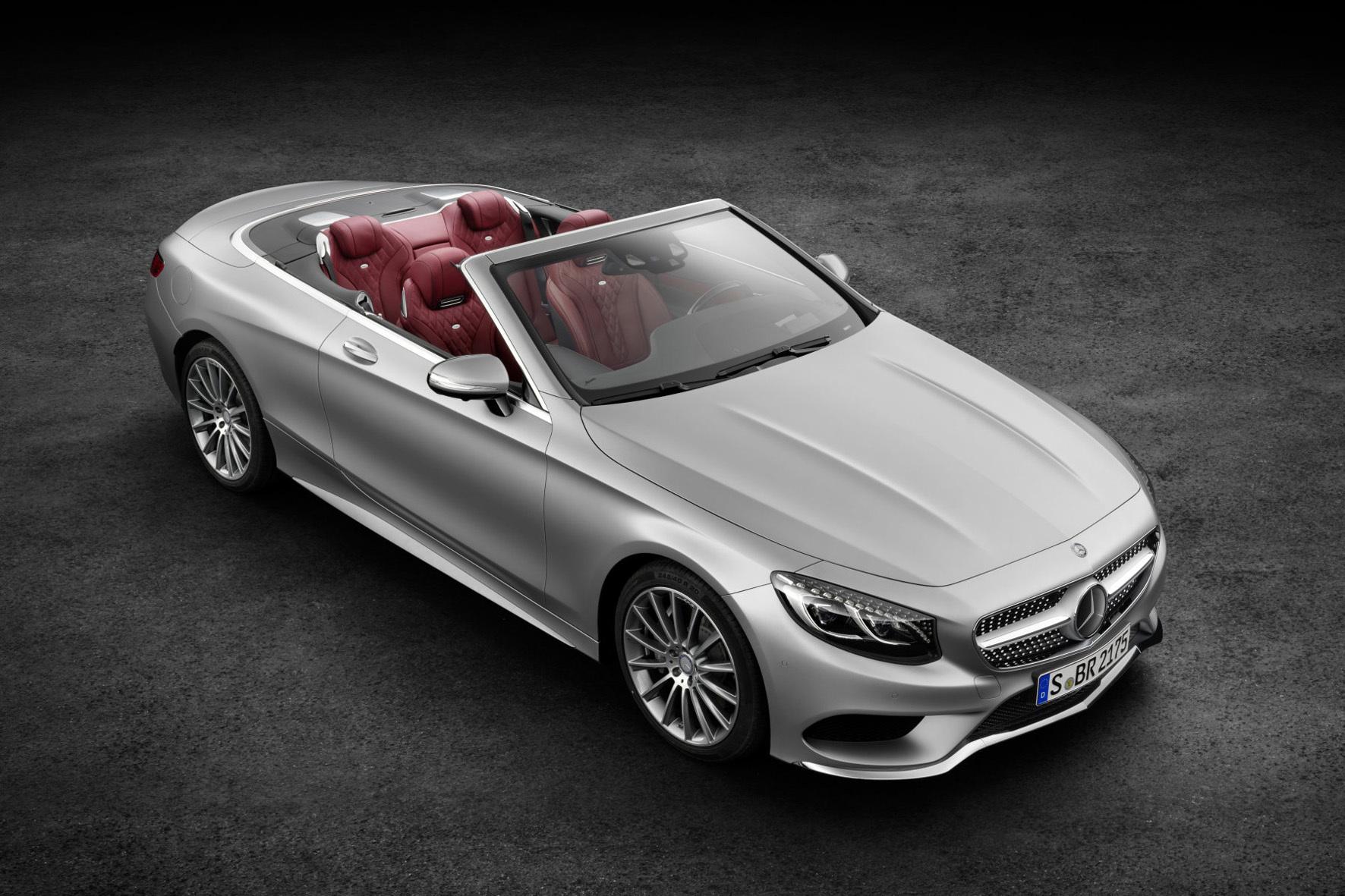 mid Frankfurt am Main - Mit dem 5,03 Meter langen Cabriolet legt Mercedes bereits das sechste Derivat der S-Klasse auf.
