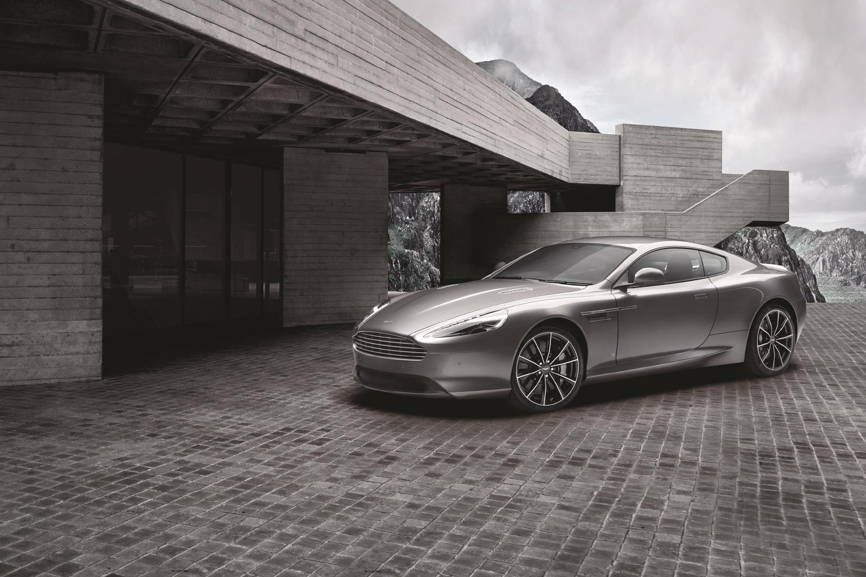 """mid Düsseldorf - Glanznummer: Von Aston Martin gibt es jetzt den DB9 GT als streng limitiertes Sondermodell """"Bond Edition""""."""