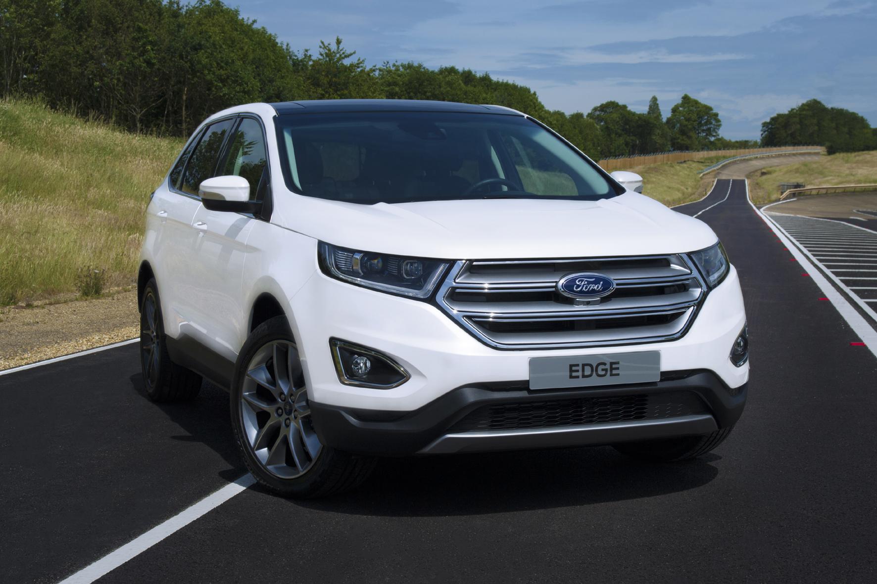 mid Düsseldorf - Ford bringt die zweite Generation seines SUV Edge Ende 2015 auch nach Deutschland. Die Europa-Version debütiert nun auf der IAA.