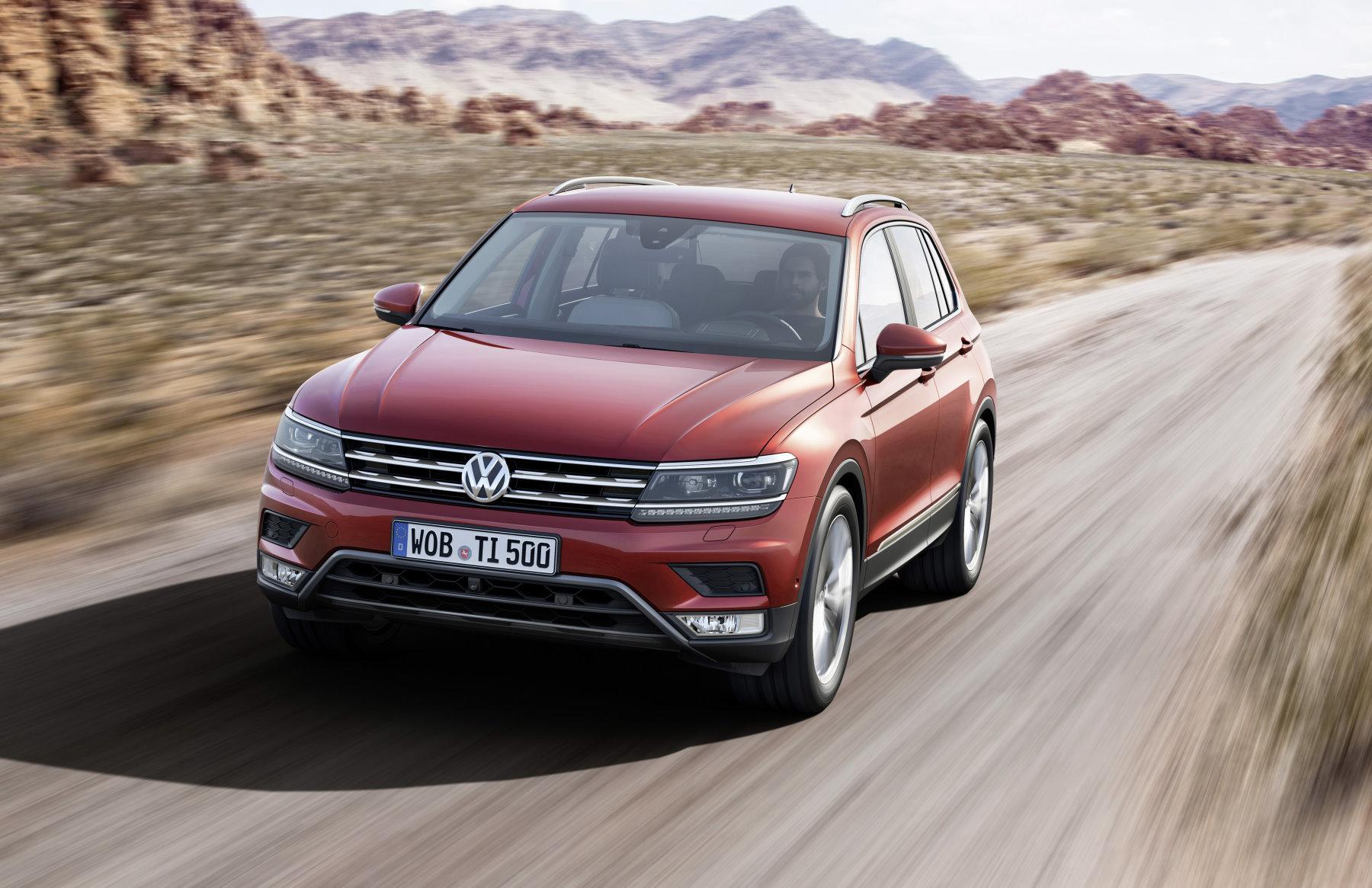 mid Frankfurt am Main - Die zweite Generation des VW Tiguan soll das Segment der kompakten SUV aufmischen.