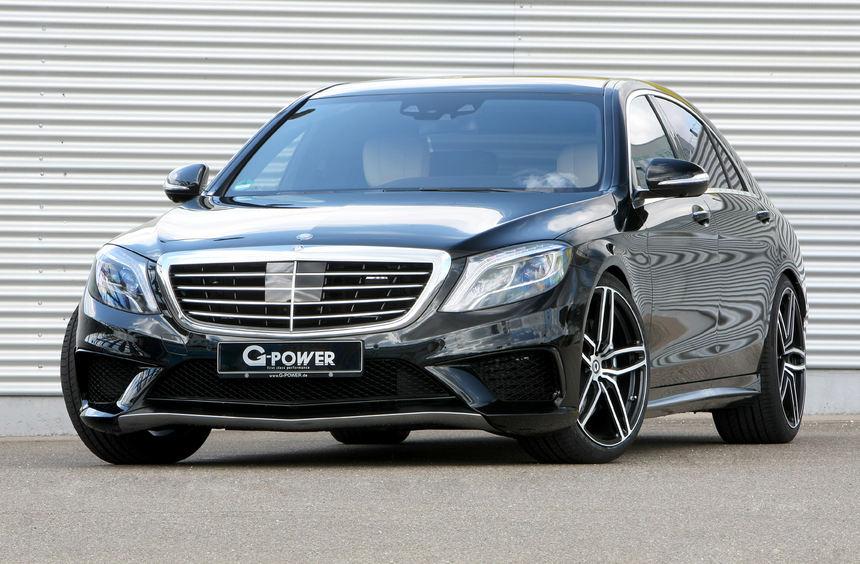 mid Düsseldorf - Tuner G-Power kitzelt aus dem V8-Biturbo-Motor des Mercedes S63 AMG 705 PS und ...