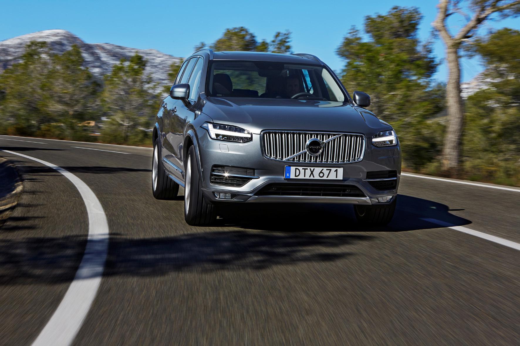 mid Torslanda/Schweden - Schöner gleiten: Mit dem neuen XC90 will Volvo Maßstäbe beim Fahrkomfort setzen. Neben einem neuen Chassis sollen dafür unter anderem eine adaptive Luftfederung und aktive Fahrwerkstechnik sorgen.