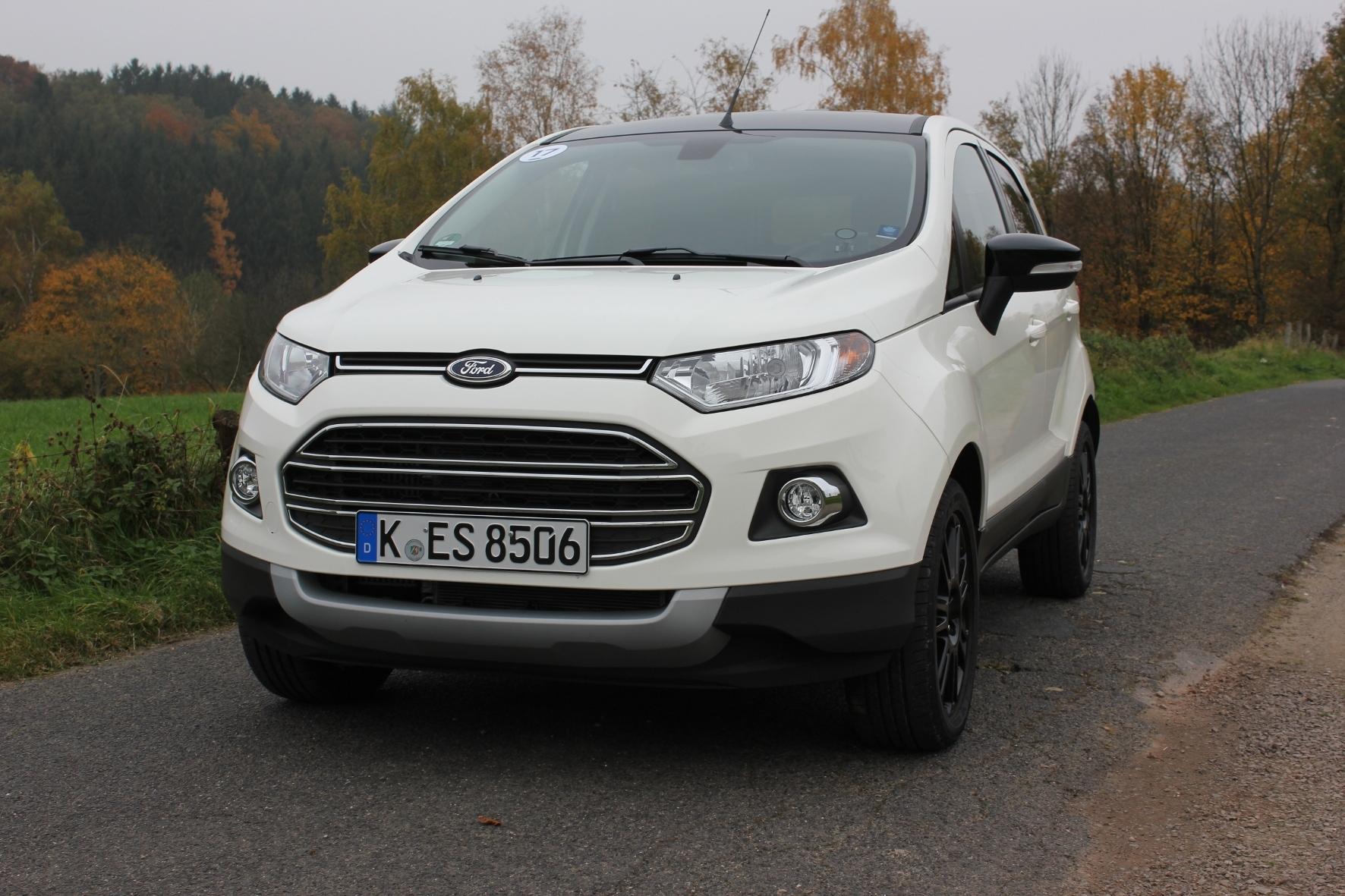 mid Köln - Schicker SUV im Kompaktformat: der Ford Ecosport.