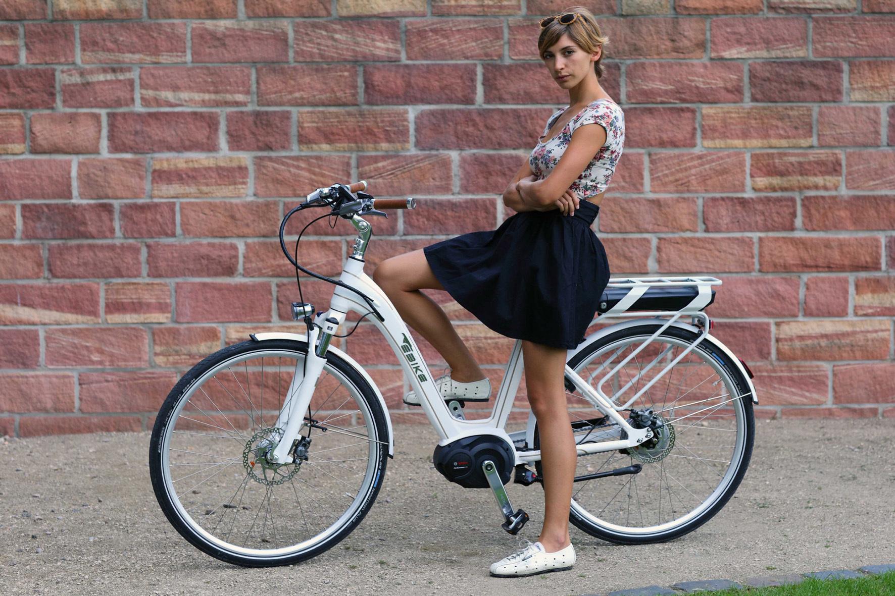 """mid Düsseldorf - Ein Hauch von Hollywood: Das E-Bike """"Beverly Hills"""" hat Star-Appeal."""
