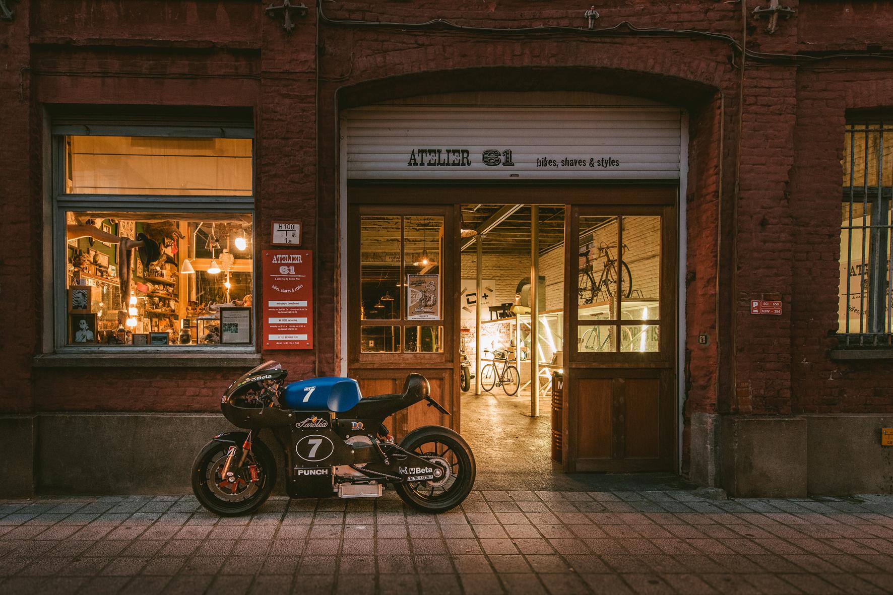 mid Isle of Man - Café-Racer der Neuzeit: das neue Elektro-Motorrad Saroléa Manx 7.