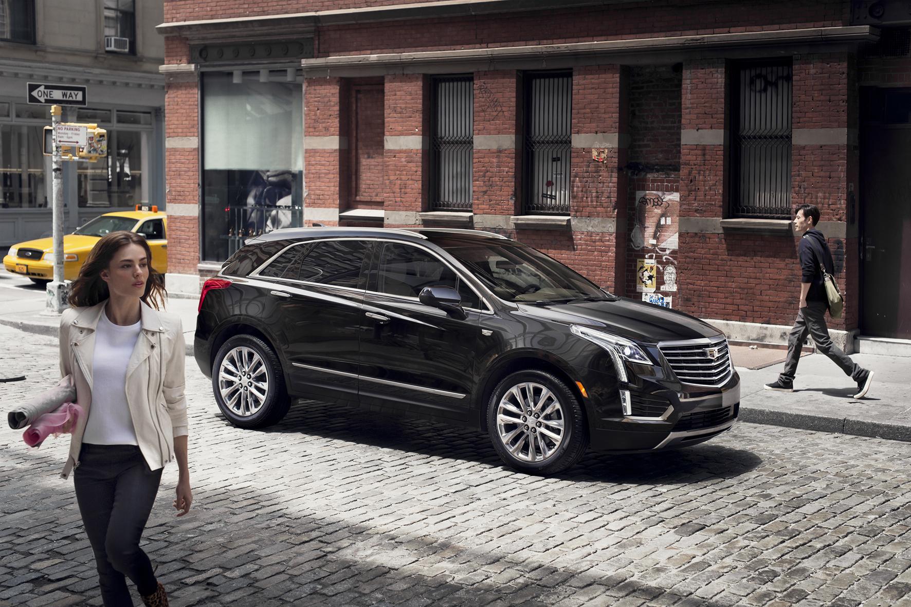 mid Düsseldorf - Konkurrenz für die deutschen Premium-SUV: der neue Cadillac XT5.