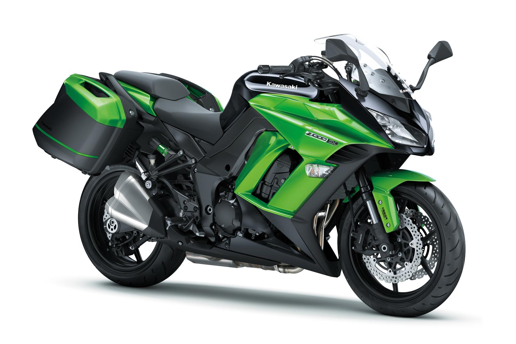 """mid Düsseldorf - Das Basis-Modell Kawasaki Z1000SX wird bei der sogenannten """"Jackpot-Aktion"""" des Motorrad-Herstellers um 1.279 Euro günstiger."""