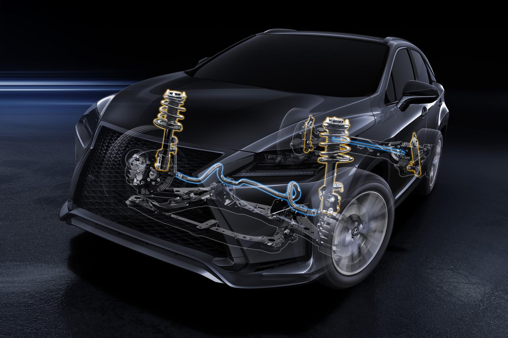 mid Köln - Bei der im Frühjahr 2016 startenden Generation des RX setzt Lexus ein grundlegend überarbeitetes Fahrwerk ein. Das soll für mehr Komfort und Agilität sorgen.