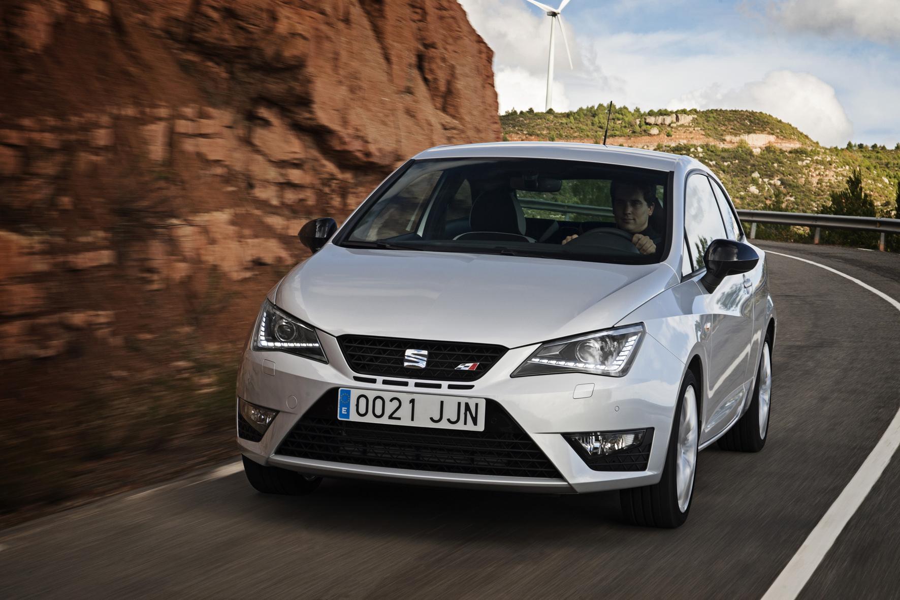 """mid Barcelona - Der kleine Wilde von Seat: Die spanische VW-Tochter präsentiert jetzt die sportliche """"Cupra""""-Version seines Kleinwagens Ibiza."""