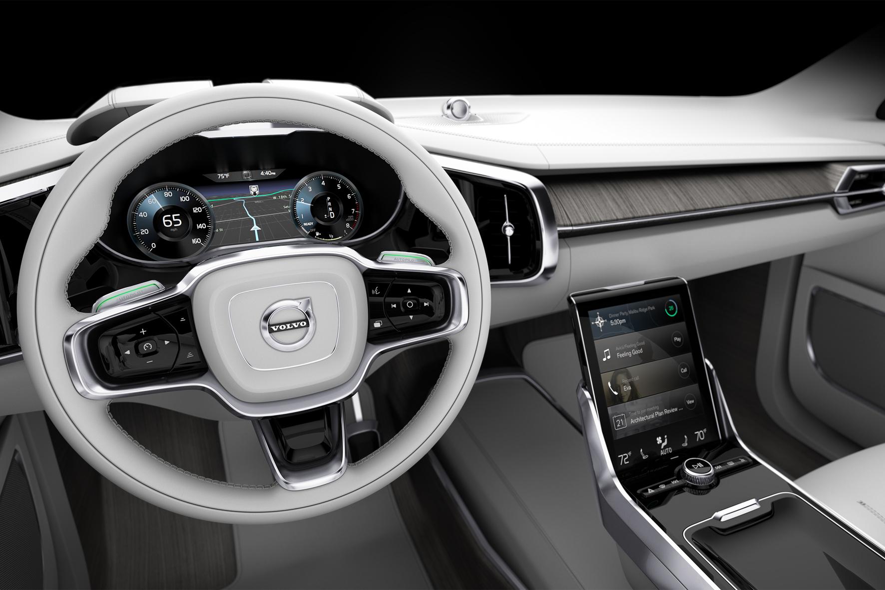 mid Düsseldorf - Wenn Autos autonom fahren, wirkt sich das auch auf die Bedürfnisse der Nutzer aus. Mit der Innenraum-Studie Commute 26 zeigt Volvo, wie das Interieur der Zukunft aussehen könnte.
