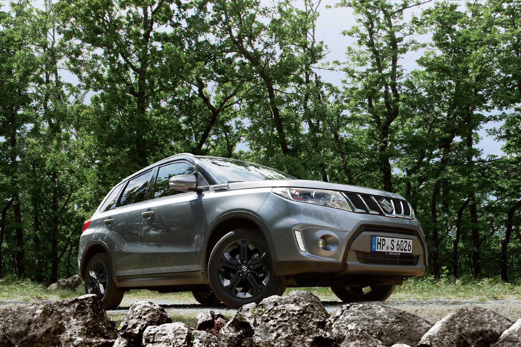 """mid Bilbao - Suzuki krönt den soeben eingeführten neuen Vitara jetzt mit dem Top-Modell """"Vitara S"""" mit durchzugsstarkem 140-PS-Motor und üppiger Ausstattung."""