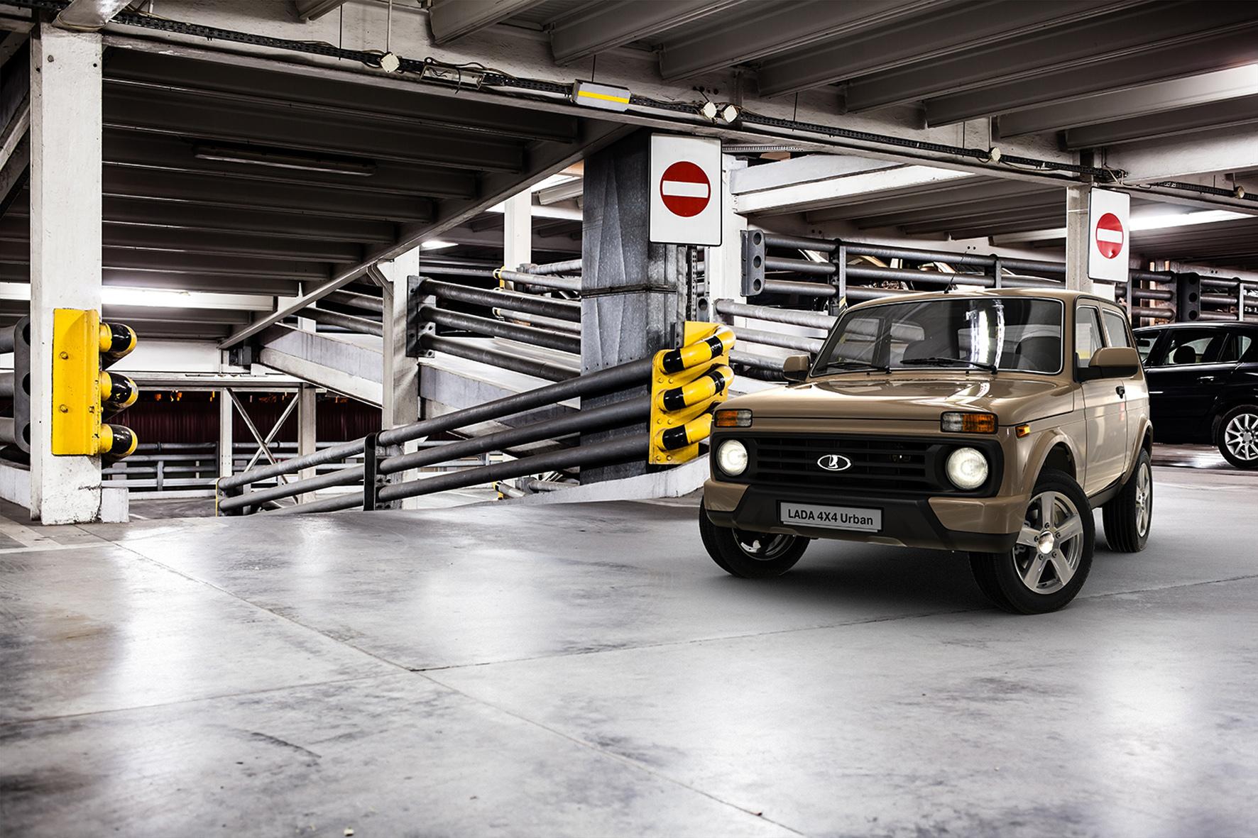 """mid Düsseldorf - Neues Gesicht, zusätzliche Farben und neue Komfortausstattung: Lada bietet den überarbeiteten Taiga jetzt als """"4x4 Urban"""" in Europa an."""