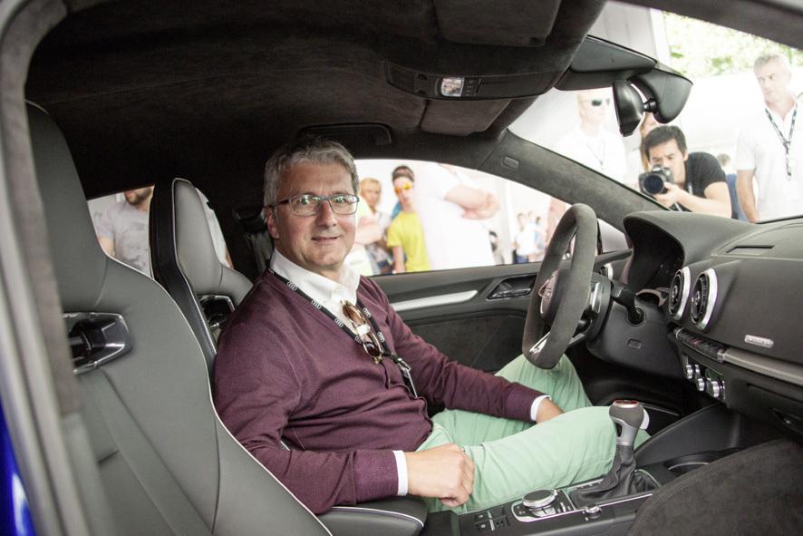 mid Ingolstadt - Auch in schwierigen Zeiten ein Mann der offenen Worte: Audi-Chef Rupert Stadler.