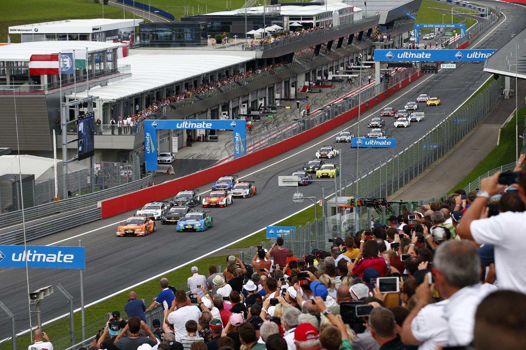 mid Düsseldorf - Die Motorsport-Fans bekommen im Deutschen Tourenwagen Masters (DTM) auch in der Saison 2016 wieder 18 Rennen zu sehen.