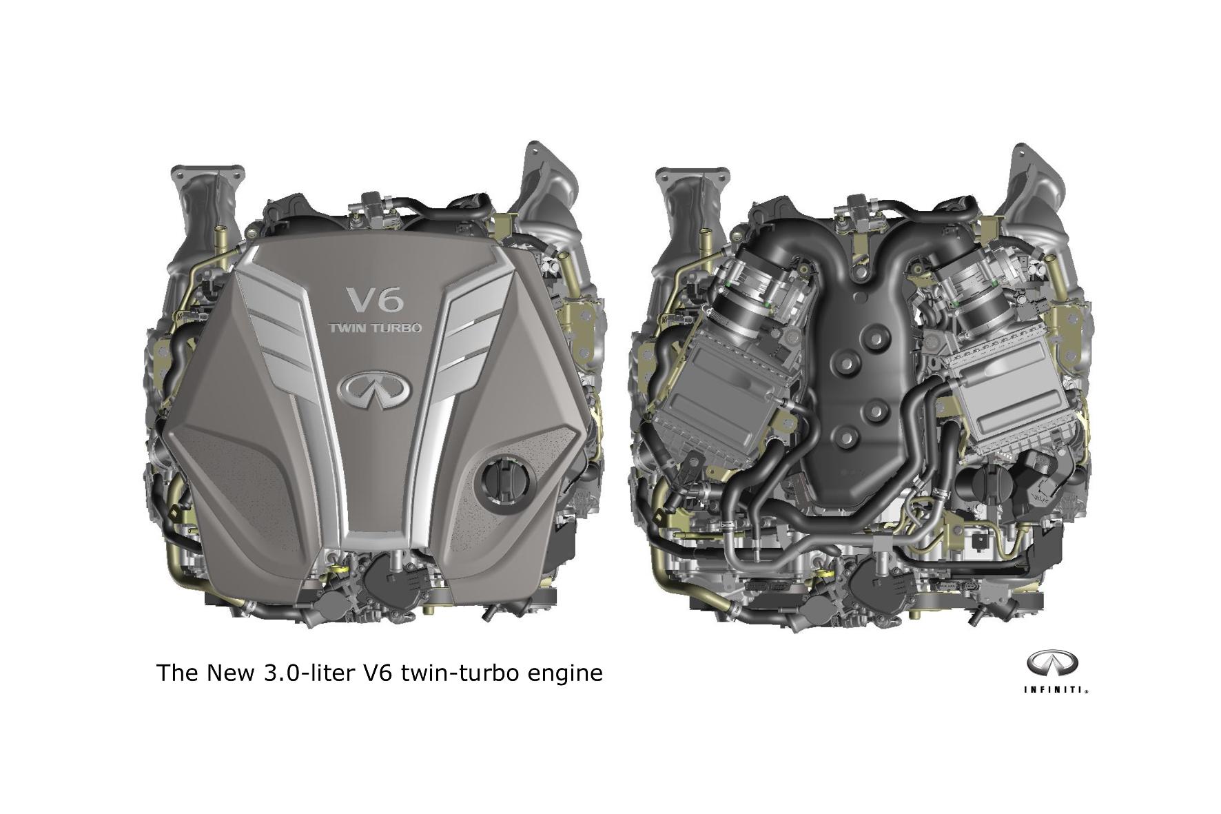 mid Groß-Gerau - Leichter, stärker und effizienter: 2016 debütiert bei Infiniti eine neue Generation an V6-Benzinern.