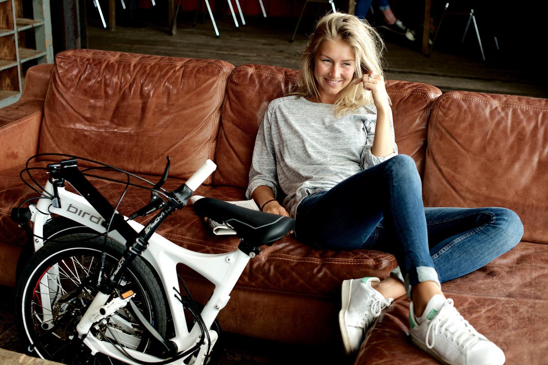 """mid Groß-Gerau - Das Fahrrad als """"Haustier"""": So mancher Radler mutet seinem Gefährt im Winter nicht den kalten Keller zu, sondern verstaut das Zweirad in der warmen Stube."""