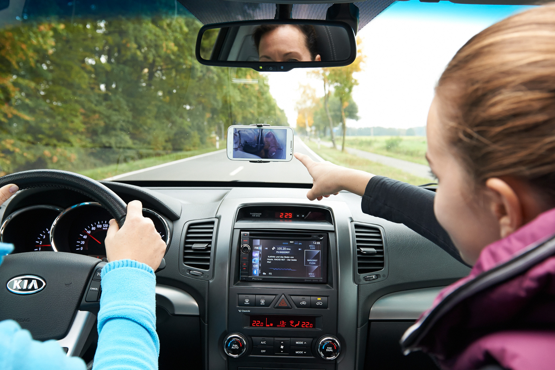 mid Groß-Gerau - Mehr Sicherheit im Transporter und Wohnmobil. Der Rückspiegel an der Windschutzscheibe ist in manchem Fahrzeug nutzlos, da die Sicht nach hinten versperrt ist. Der digitale Rückspiegel von Waeco schafft Abhilfe.