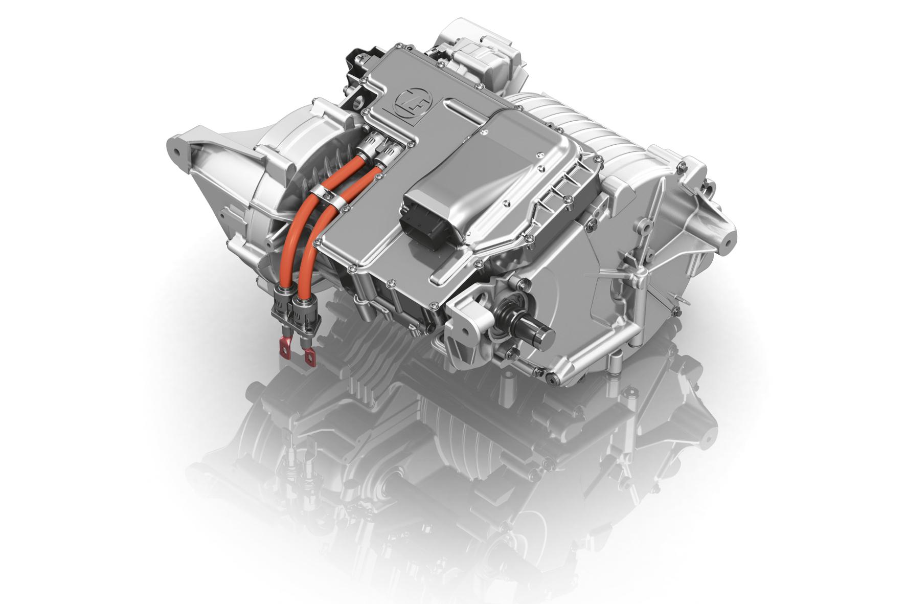 mid Genf - Das vollintegrierte elektrische Achsantriebssystem von ZF wird 2018 in Serie gehen.