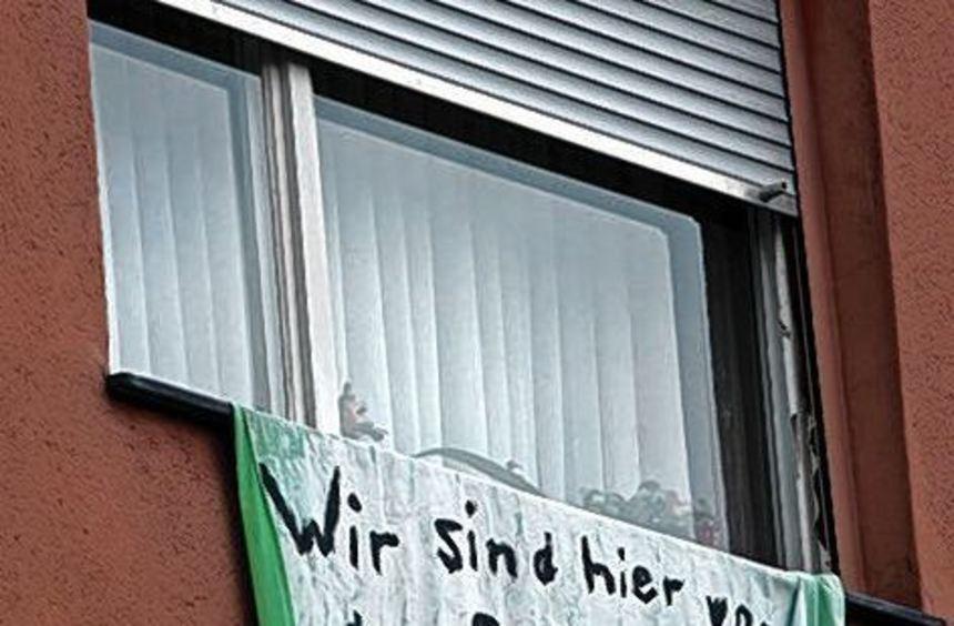 Umstritten: Die Häuser an der Carl-Benz-Straße werden abgerissen.