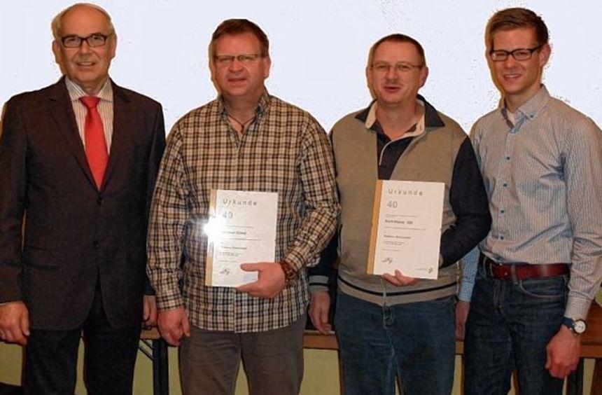 Der Vorsitzende des Blasmusikverbandes Tauber-Odenwald-Bauland Bezirk Rechts der Tauber, Valentin ...